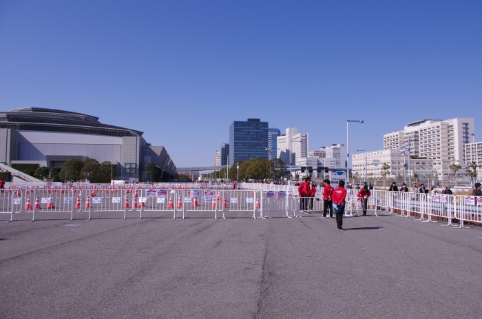 All of these were prepared for long lines of anime fans before the Anime Japan 2014 event