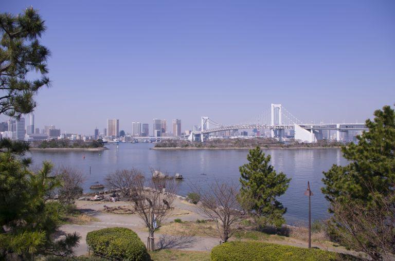 Once again, Rainbow Bridge and Tokyo as seen from Odaiba