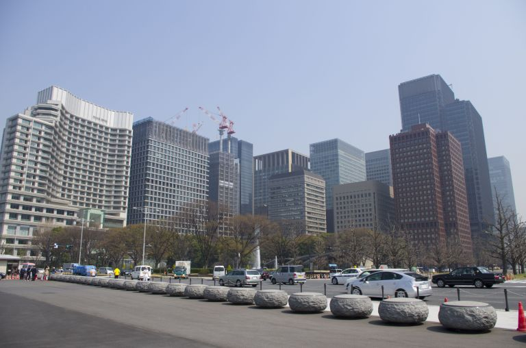 The skyscrappers of Chiyoda, once again, close to Imperial Palace