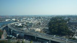 View of the industrial zone from Marine Tower