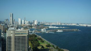 Minato Mirai scenery from Marine Tower